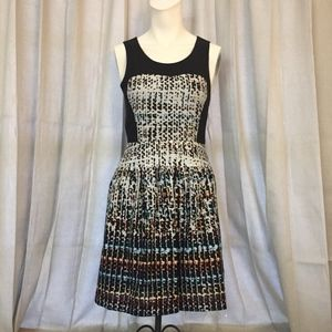 Guess Digital Cut Out Summer Dress Size 2